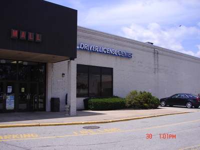 drivers license center indiana pa mall